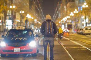 Abordar un taxi